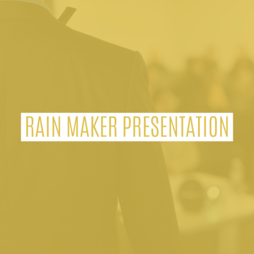 Rain Maker Brand & Video Kit