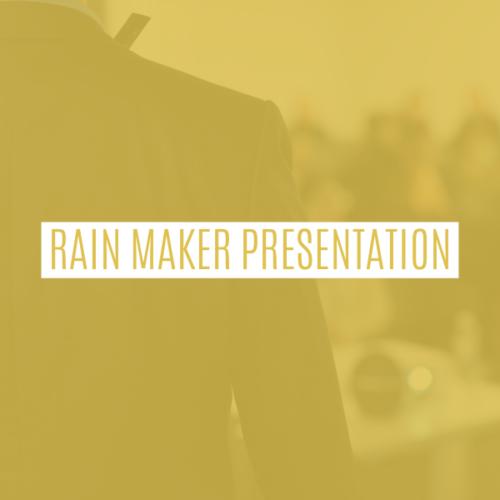 Rain Maker Brand & Video Kit