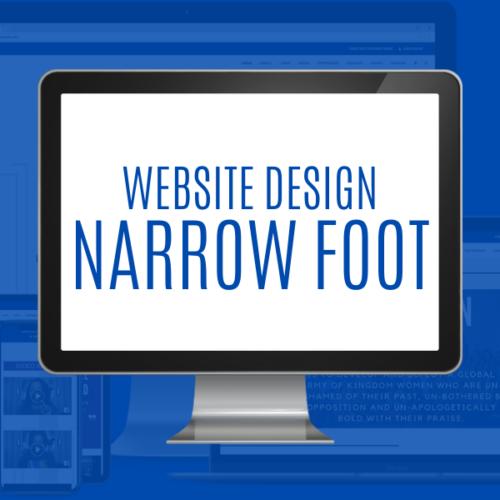 Narrow Foot