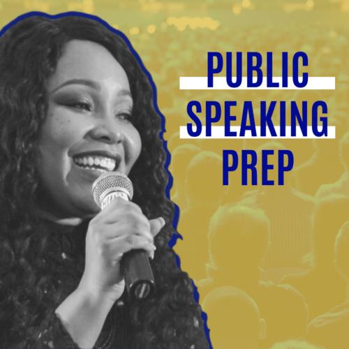 Speaker Prep